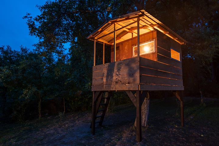 Complete treehouse