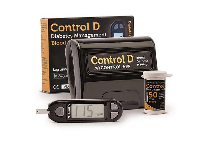 Control D Diabetes Management Glucometer