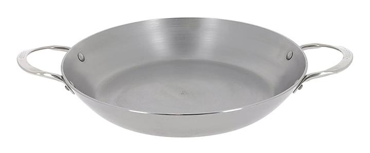 De Buyer Mineral B Round Carbon Steel Paella Pan
