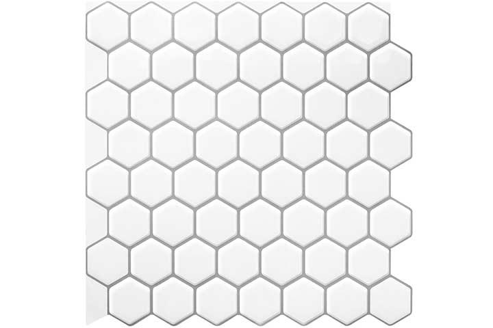Decopus Peel-And-Stick Backsplash Tile