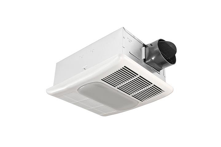 Delta Electronics BreezRadiance RAD80L - 80 CFM FanLight With Heater