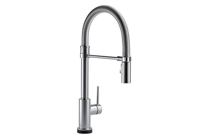 Delta Faucet Trinsic Pro Single-Handle Touch Kitchen Sink Faucet