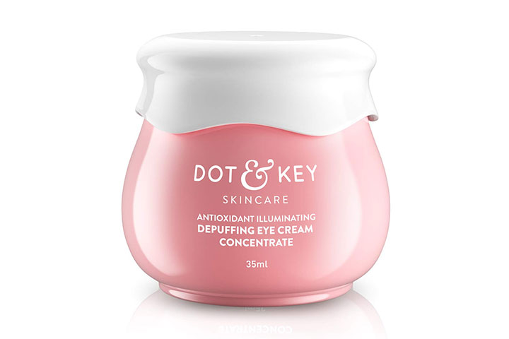 Dot Key Skincare Depuffing Eye Cream Concentrate