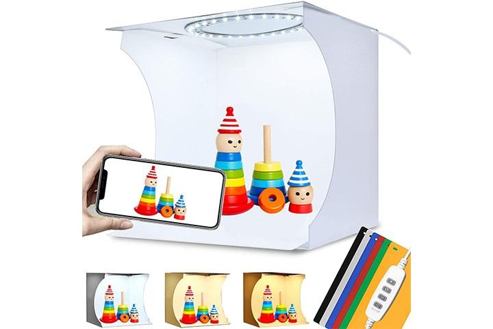 Duclus Adjustable Mini Photo Light Box
