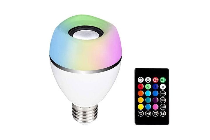Dudu E27 LED Light Bulb With Bluetooth Speaker