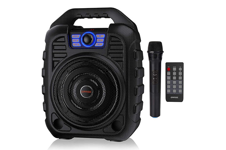 Earise T26 Portable Karaoke Machine Bluetooth Speaker