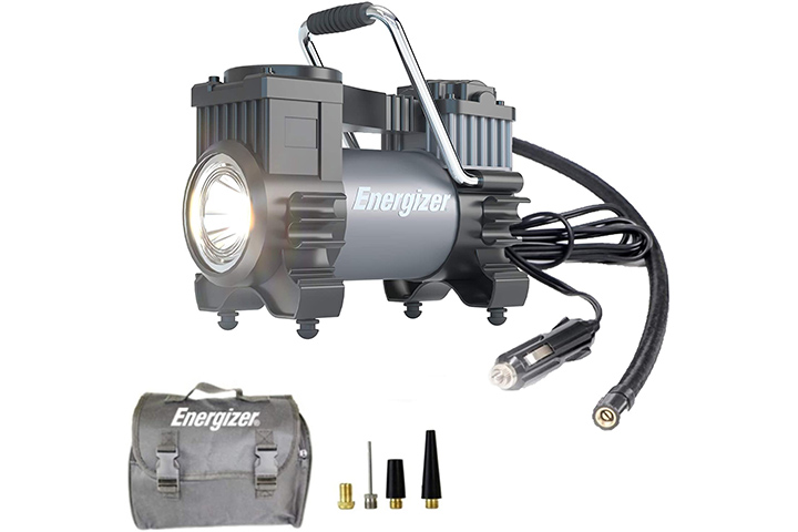 Energizer Portable Air Compressor Tire Inflator
