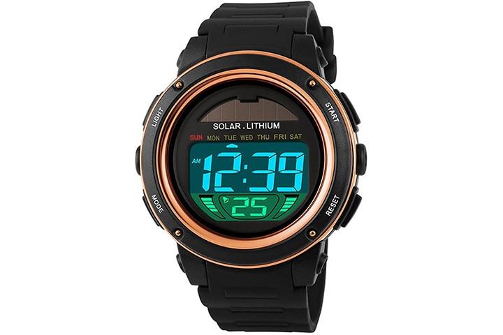 Fanmis Solar Power Sports Watch