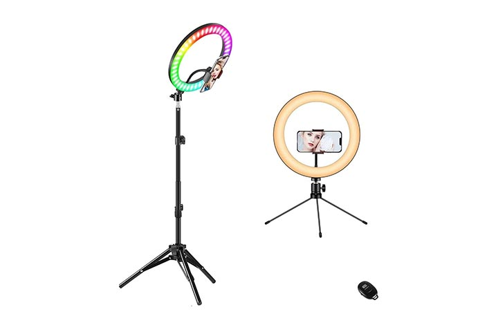 Fauna 10 Ring Light With Stand
