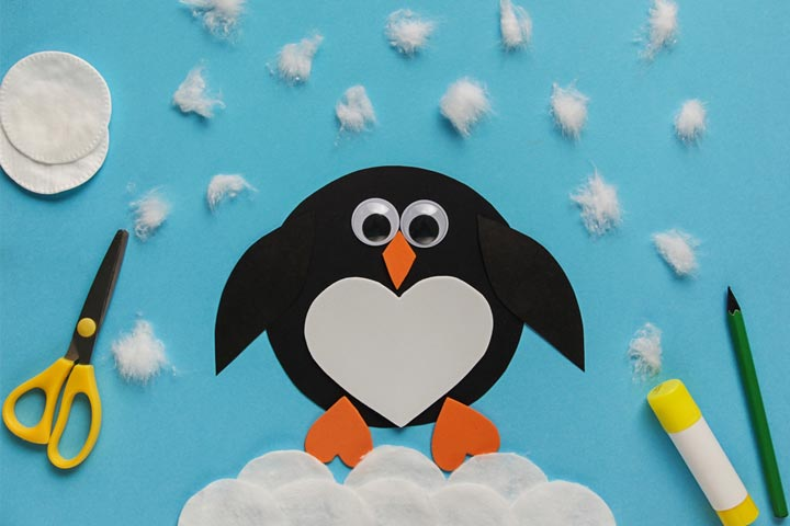 Felt penguin