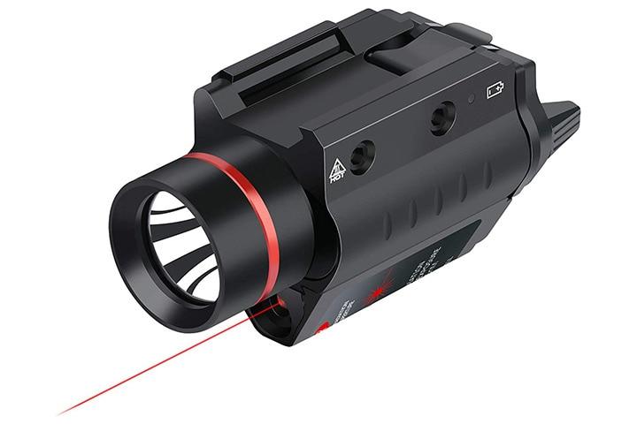 Feyachi LF-38 Red Laser Flashlight Combo