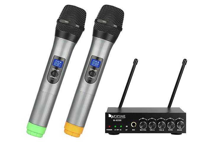 Fifine Wireless Handheld Microphone