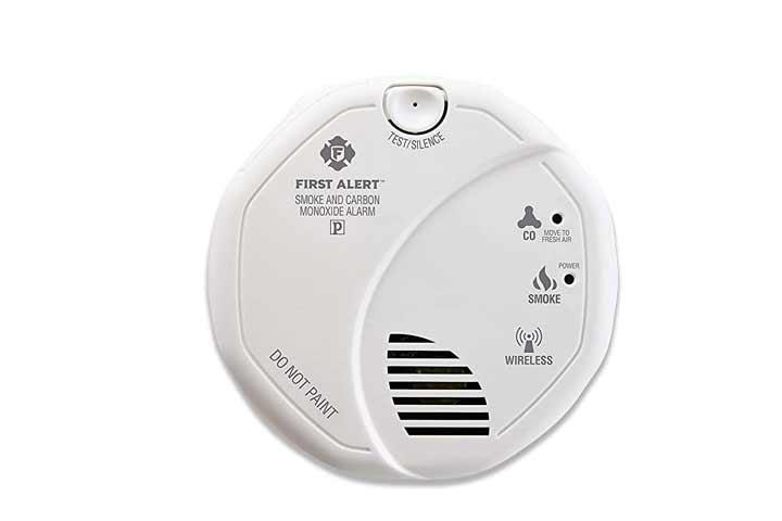 First Alert ZCombo Smoke Detector & Carbon Monoxide Alarm