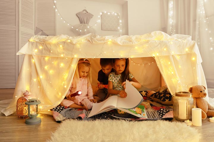 Fort Ideas For Kids