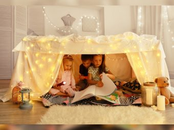 15 Best DIY Indoor And Outdoor Fort Ideas For Kids