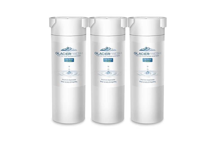 GLACIERFRESH Replacement Refrigerator Water Filter - GF-XWF