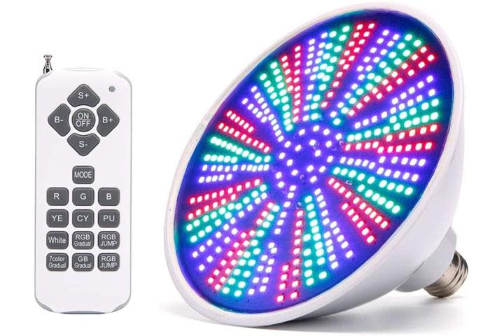 GRG RGB Color Changing LED Pool Light Bulb
