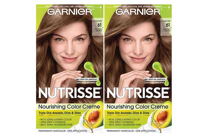Garnier Hair Color Nutrisse Nourishing Crème (Mochaccino)