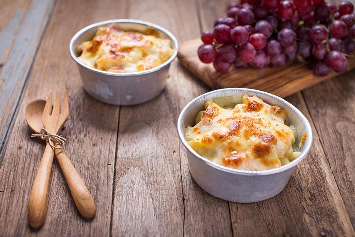 Grape and sweet potato casserole