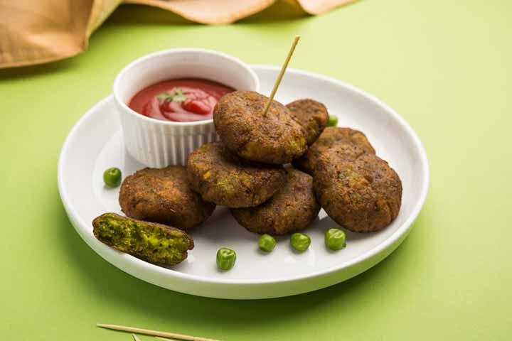 Green Spinach Kebab