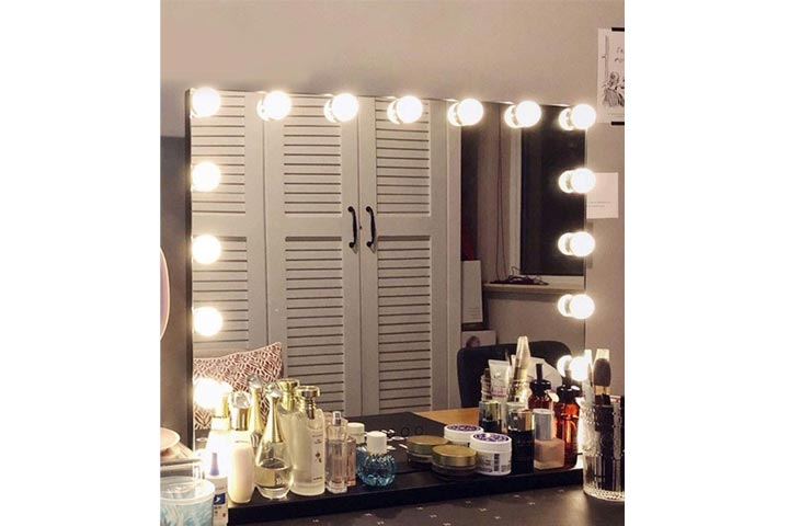 Hansong Large Vanity Makeup Mirror With Lights