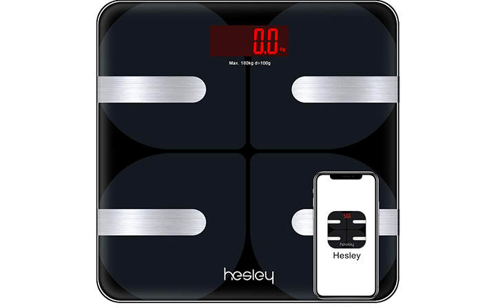 Hesley Body Fat Digital Bluetooth Scale