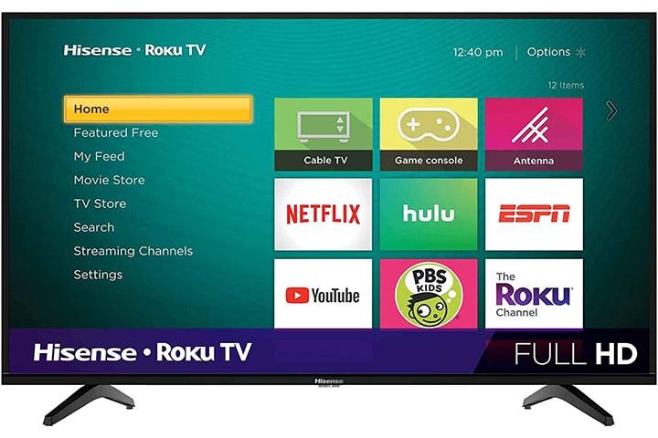 Hisense 40-inch Class H4 Series Led Roku Smart TV