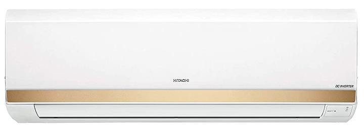 Hitachi 1.25 Ton 5-Star Inverter Split Air Conditioner- Copper Gold