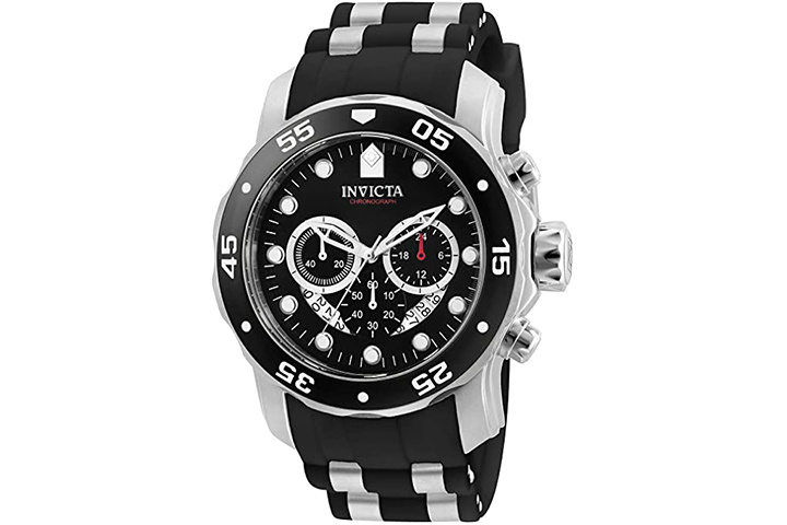 Invicta Men's Pro Diver Scuba Stainless Steel Watch