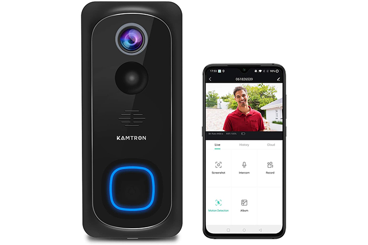 Kamtron WiFi Video Doorbell camera