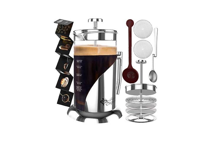 Kitchen Supreme French Press Coffee Maker