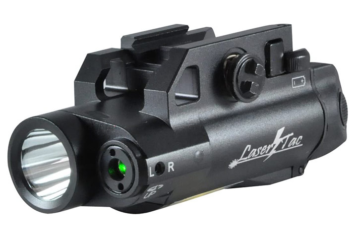 LaserTac CL7-G Green Laser Sight And Tactical Flashlight Combo