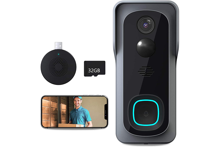 Lefun Video Doorbell Camera