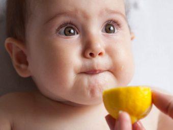 बच्चों को नींबू देना कब शुरू करें, फायदे व नुकसान | Lemon For Babies In Hindi