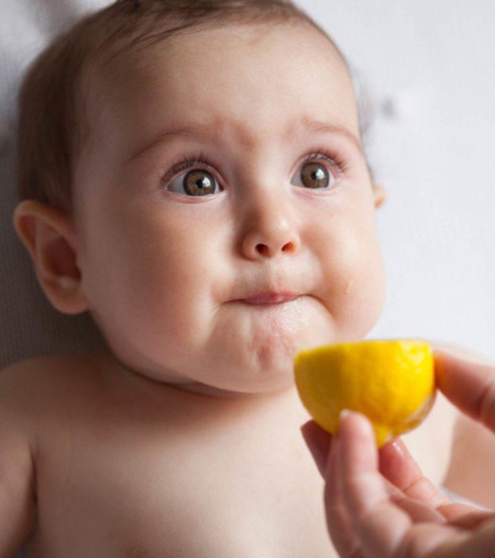 Lemon For Babies In Hindi