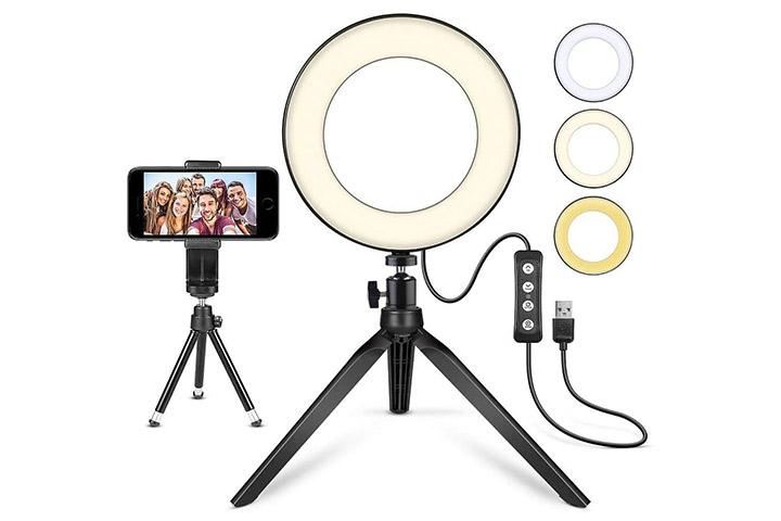 Mactrem LED Ring Light