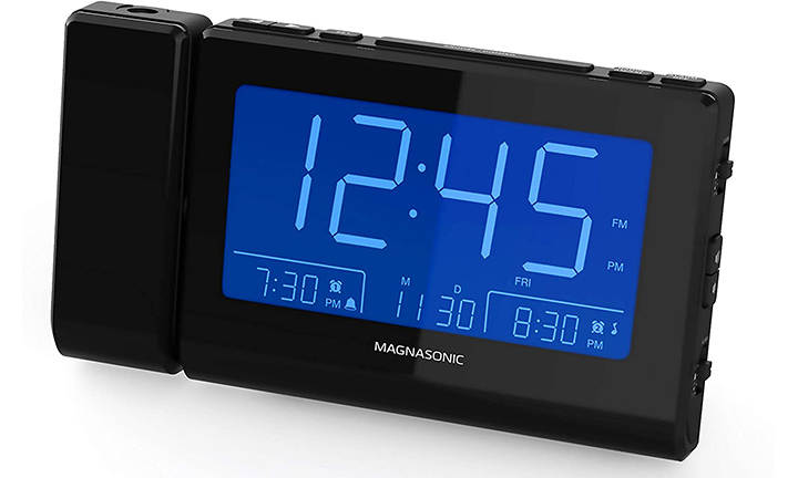 Magnasonic Bluetooth Speaker Alarm Clock