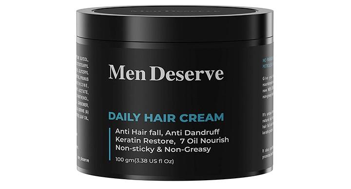 Men Deserve Daily Hair Cream