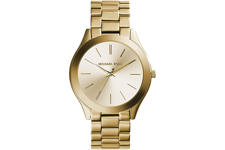 Michael Kors Women's Slim Stainless Steel Quartz Watch