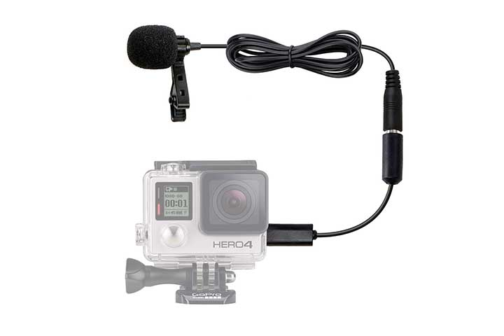 Movo Clip-on Lavalier Microphone