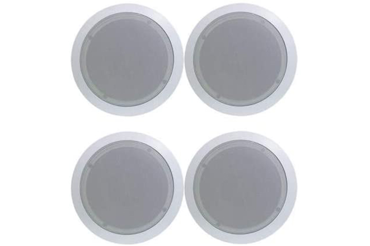 New Pyle Round Wall and Ceiling Home Speakers