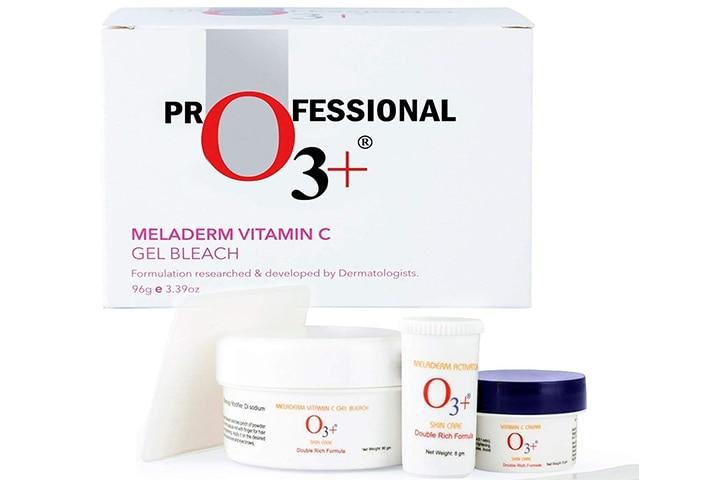 O3+ Meladerm Vitamin C Gel Bleach for Skin