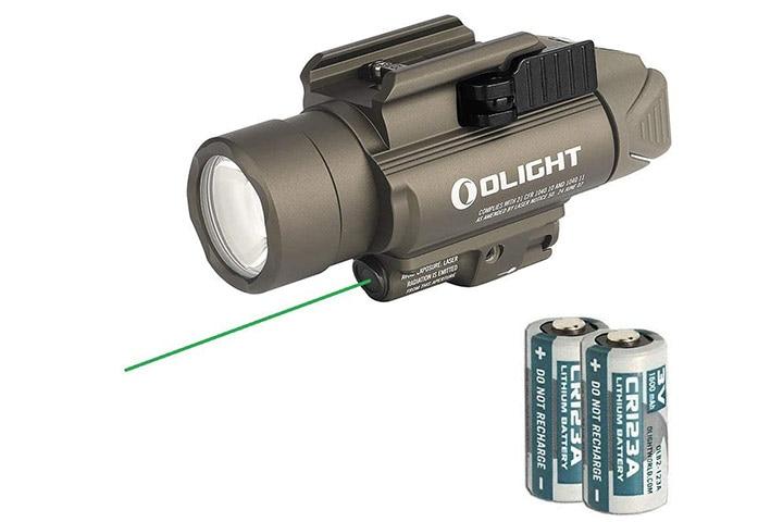 Olight Baldr Pro Green Laser And LED Light Combo