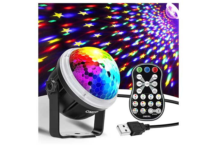 Omeril Party Lights Disco Ball