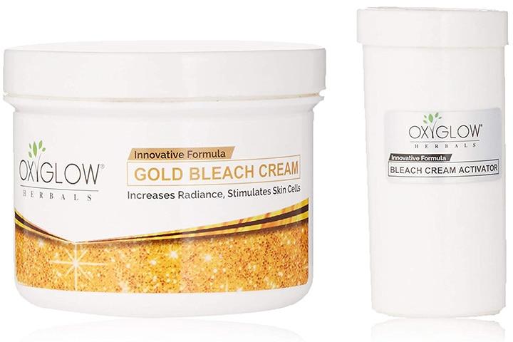 Oxyglow Gold Bleach Cream and Bleach Cream Activator