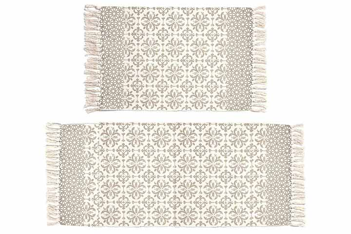 Pauwer Moroccan Cotton Area Rug