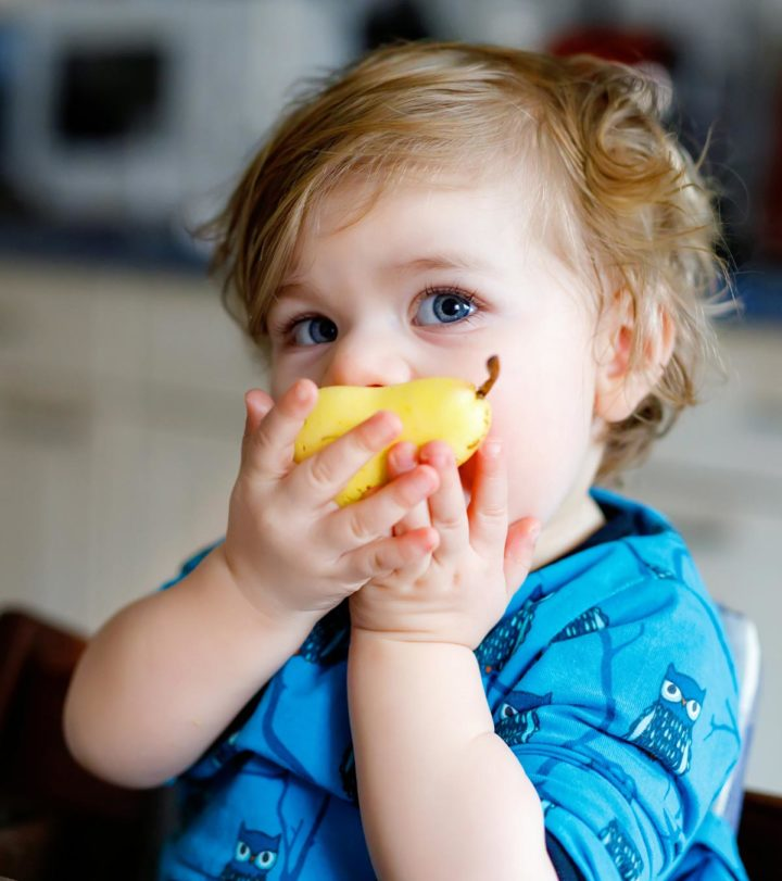 Pear For Babies When To Introduce, Benefits And Recipes