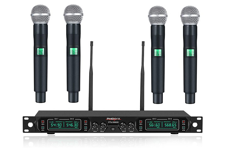 Phenyx Pro Wireless Microphone System