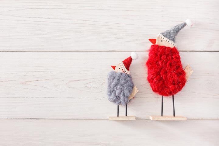 Pom-pom birds
