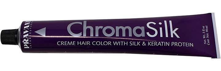 Pravana ChromaSilk Crème Hair Color 5.11 Light Intense Ash Brown